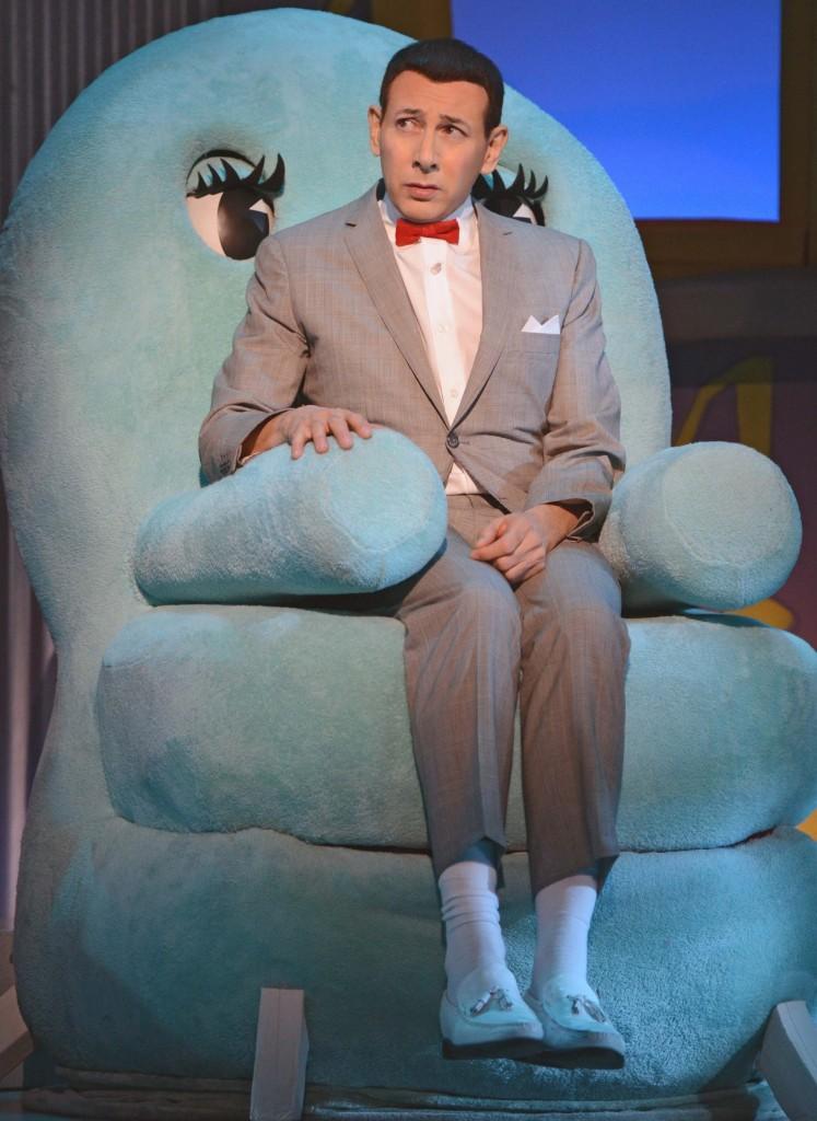 Pee-wee Herman (Paul Reubens) helped adults invoke their inner child on March 19.