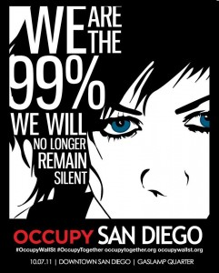 San Diego is now occupied