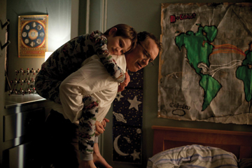 "Tom Hanks as Thomas Schell and Thomas Horn as Oskar in ""Extremely Loud & Incredibly Close.""  Paramount Pictures"