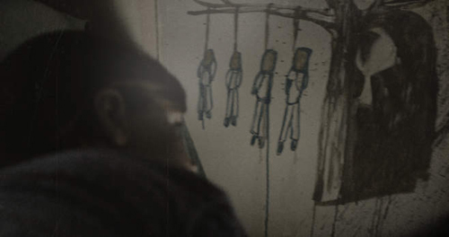 """""""Sinister's"""" grotesque scenes could keep audiences from sleeping.  Official image."""