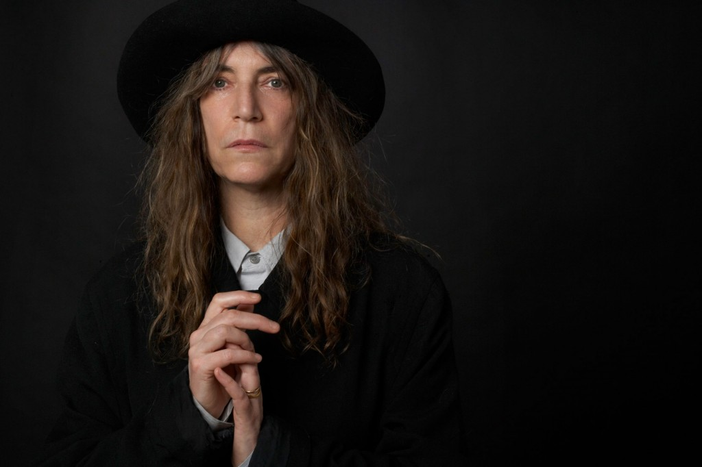 Punk legend Patti Smith sang songs and read passages from her autobiography