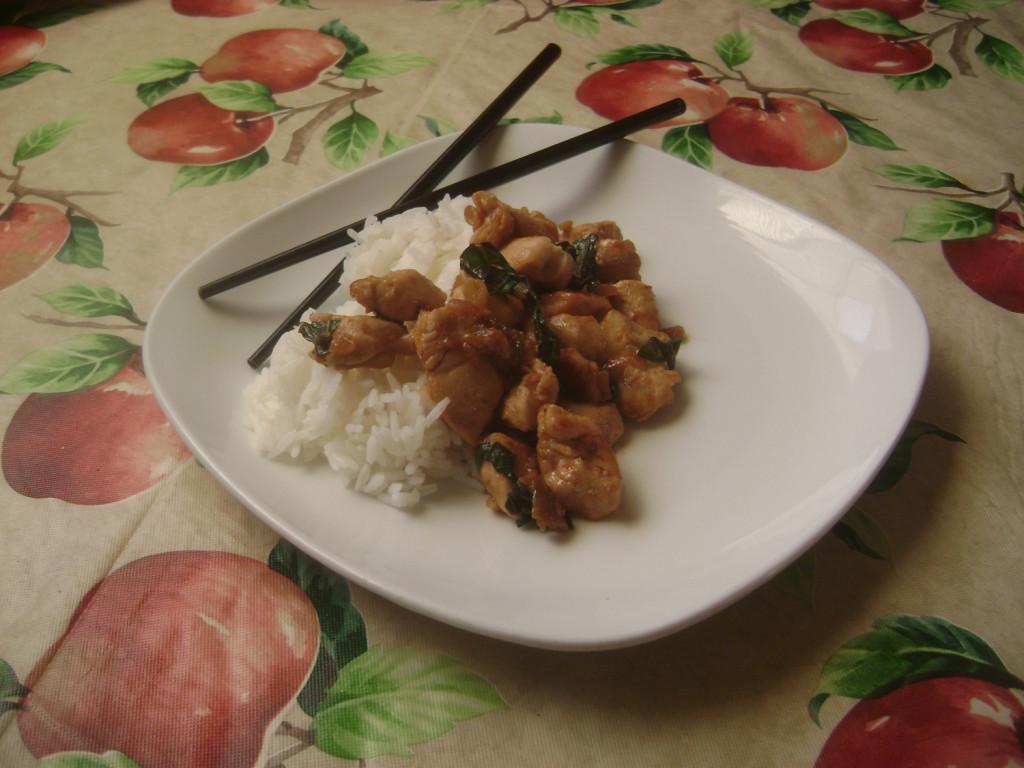 Spicy Thai Basil Chicken. Jennifer Manalili, City Times