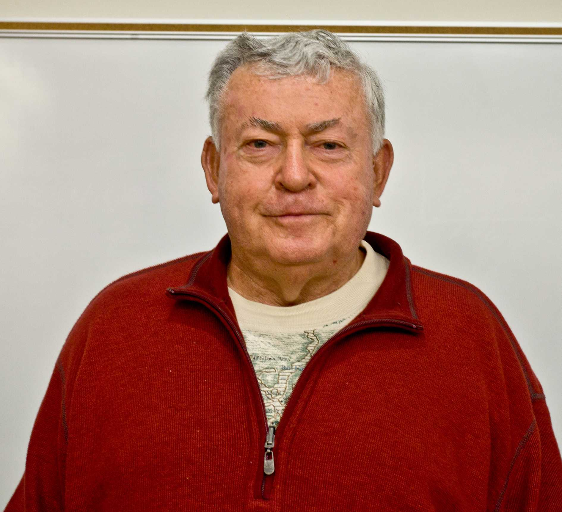 Vojin Joksimovich, PhD spoke about a nuclear Iran and its meaning with respect to the United States at San Diego City College on Wednesday, Mar. 20.