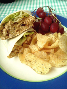 Homemade chicken salad makes for an easy and affordable lunch. Jennifer Manalili, City Times.