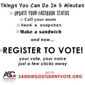 Students can register to vote online now