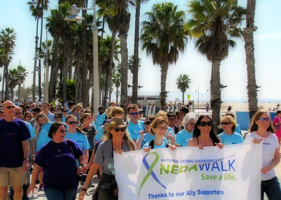 The National Eating Disorder Awareness Walk has more than 250 attendees at the San Diego event. (Courtesy photo)