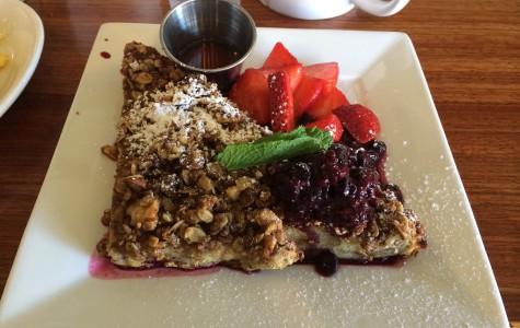 Breakfast at the Kensington cafe