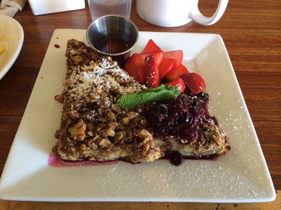 The Kensington Cafe has a lot to offer when it comes to breakfast. Photo credit: Michelle Moran
