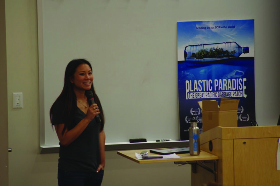 Angela+Sun%2C+director+of+%22Plastic+Paradise%3A+The+Great+Pacific+Garbage+Patch.%22+Photo+credit%3A+Joe+Kendall