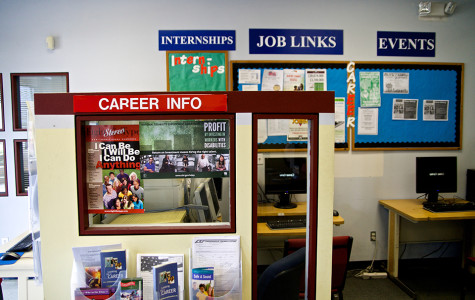 The Career/Transfer Center helps with finding students jobs and transferring to a four-year university. Photo credit: Troy Orem