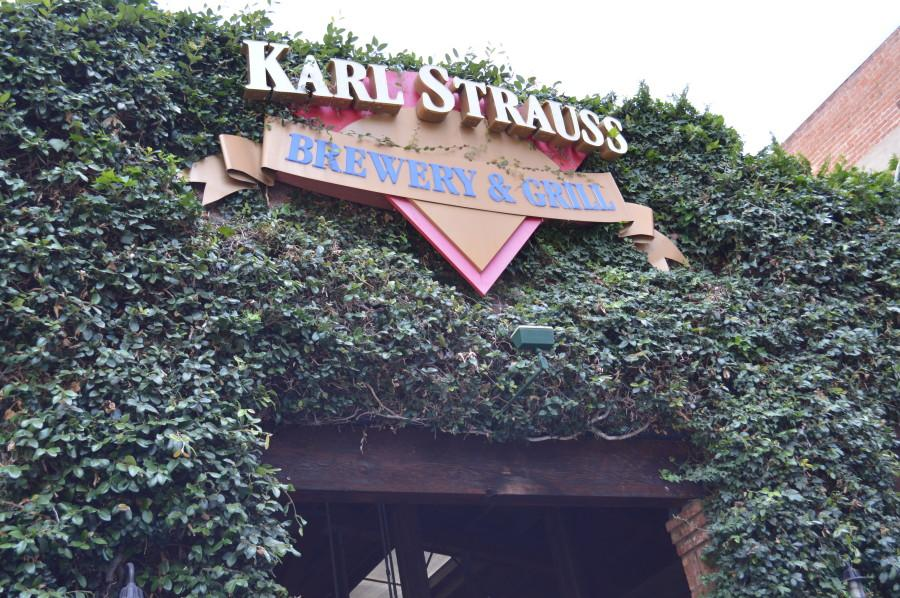 Karl Strauss Brewery and Grill on India St. in Little Italy/Downtown. Photo credit: Michelle Moran