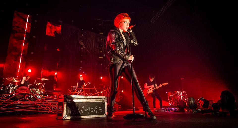 Top act, Paramore, will be featured at this year's 93.3 Summer Kickoff Concert, May 9 at the Sleeptrain Wireless. (Official Facebook image)
