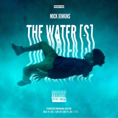"""The Water[s]"" album cover. (HotNewHipHop.com)"