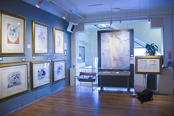 The Little Italy based Meyer Fine Art Gallery displays one of the largest collections of Salvador Dali's works, known as the Argillet Collection. Photo credit: Celia Jimenez