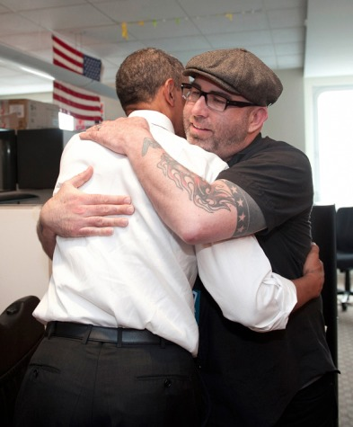 Josh Higgins and President Barack Obama. Courtesy Photo.