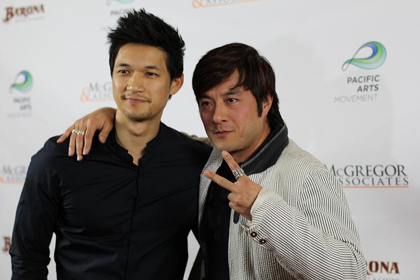 Actors+Harry+Shum+Jr.+and+Shing+Ka+on+the+red+carpet+for+their+film+%E2%80%9CRevenge+of+the+Green+Dragons%2C%E2%80%9D+the+opening+night+film+for+the+15th+Annual+San+Diego+Asian+Film+Festival+on+Nov.+6+at+Reading+Cinemas+Gaslamp+15.+Photo+credit%3A+Angelica+Wallingford