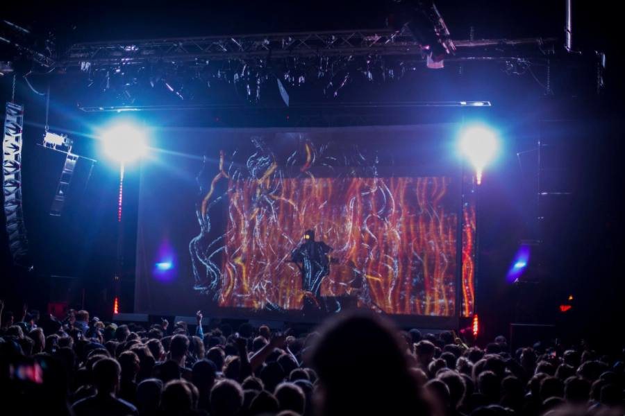 Flying Lotus performs at the First Avenue Mainroom in Minneapolis on Oct. 25. Justin Sengly, official Facebook photo.