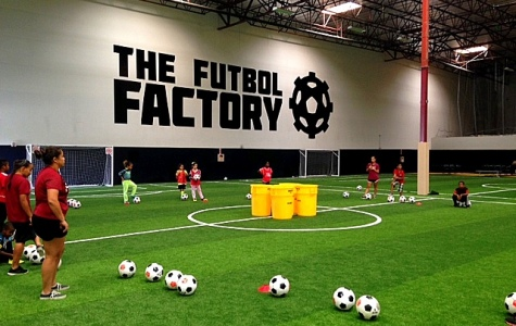 The San Diego City College women's soccer team volunteered at The Futbol Factory in Chula Vista on Nov. 15 where the ladies gave proper instruction in soccer skill techniques with youth ages 11 and younger.   Photo courtesy of Andi Milburn