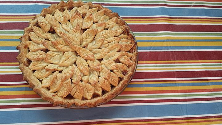 Apple pie is one of the perfect foods to kick off the 
