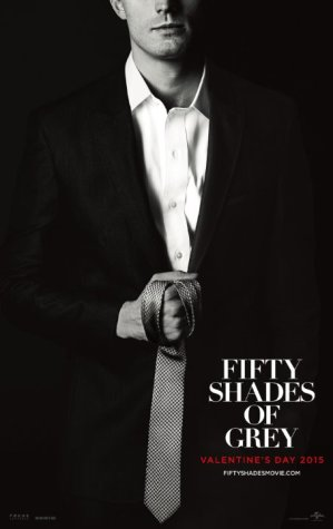 """Fifty Shades of Grey,"" Official movie poster."