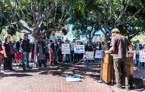Part-time professors rally for full-time equality