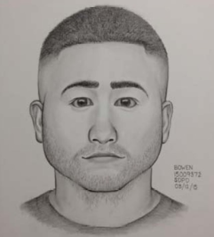 Sketch of sexual battery suspect released