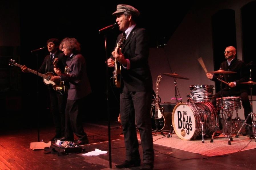 The Beatles cover band The Bajabugs packed the Saville Theatre on Sept. 1 to celebrate the golden anniversary of the iconic British foursome. Photo credit: Mike Madriaga