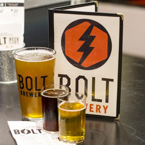 Bolt Brewery offers a vast array of craft beers that are sure to please novice and veteran beer aficionados alike. Photo credit: Ricardo Soltero