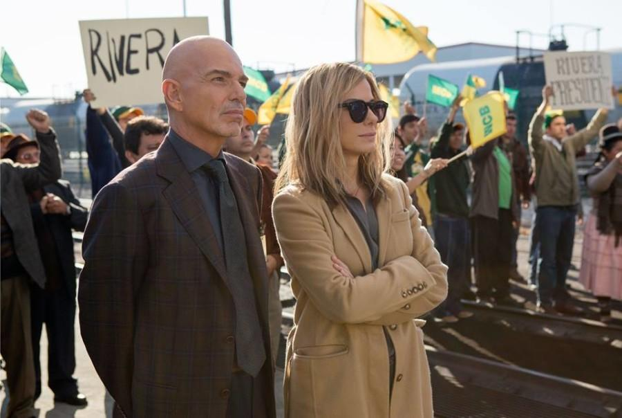 "Billy Bob Thorton and Sandra Bullock star in ""Our Brand is Crisis."" Official Facebook image."
