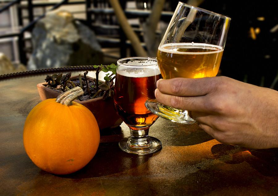 Pumpkin beer is a perfect way to celebrate the fall season. Photo by Osvaldo Ruiz, contributor