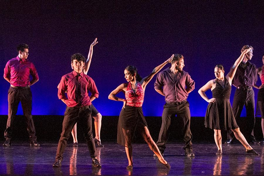 The Spring dance concert starts on May 6 and showcases the celebration of life through dance and music.  The dance performance explore the combination of subtle and harsh musical  tempos and strong and subtile movements. Student dancers interpreting