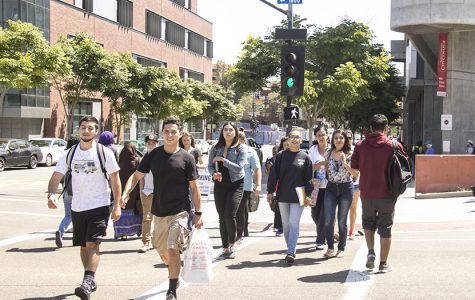 There was a slight increase in enrollment at City College, however it is still down from several years ago. Photo credit: Celia Jimenez / City Times
