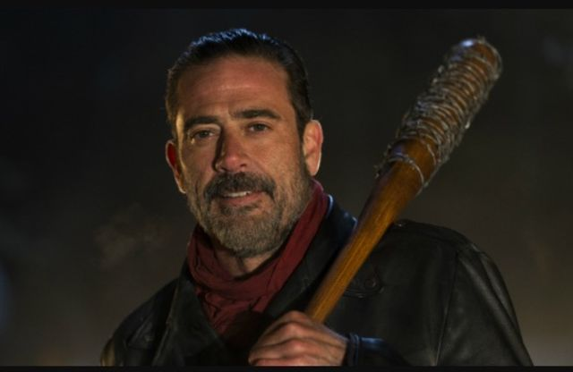 Jeffrey+Dean+Morgan+plays+the+evil+Negan+in+%22The+Walking+Dead.%22+Courtesy+of+AMC