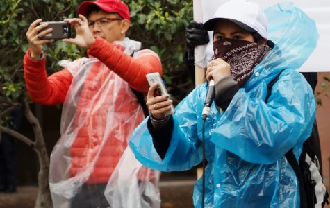 Protest leaders urged people to take action.