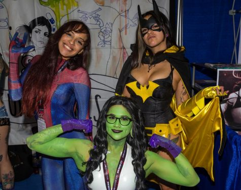 San Diego Comic Con, SDCC, 2017, Cosplay, Mike Madriaga, Alan Hickey, Anime, Comic books, Batman, Superman, Steampunk, City College, Catwoman, DC, Marvel, Walking Dead, Spiderman