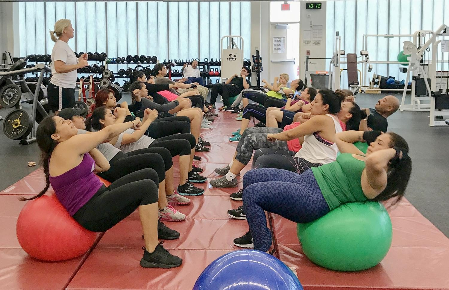 Circuit Training Course Helps City Students Improve Their Health