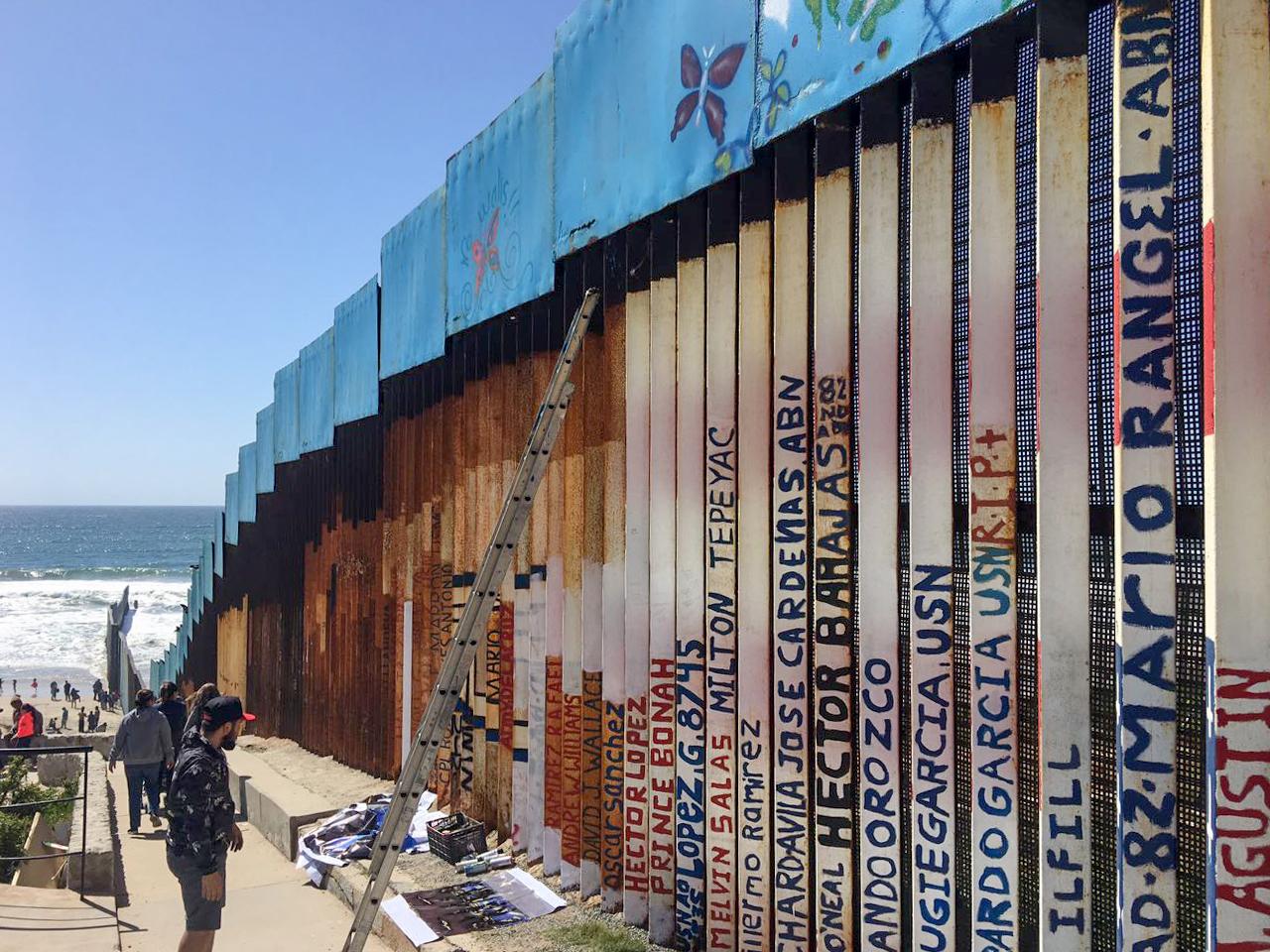 Mural near Playas de Tijuana