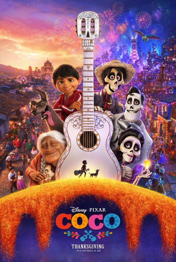 Promotional poster for Coco.