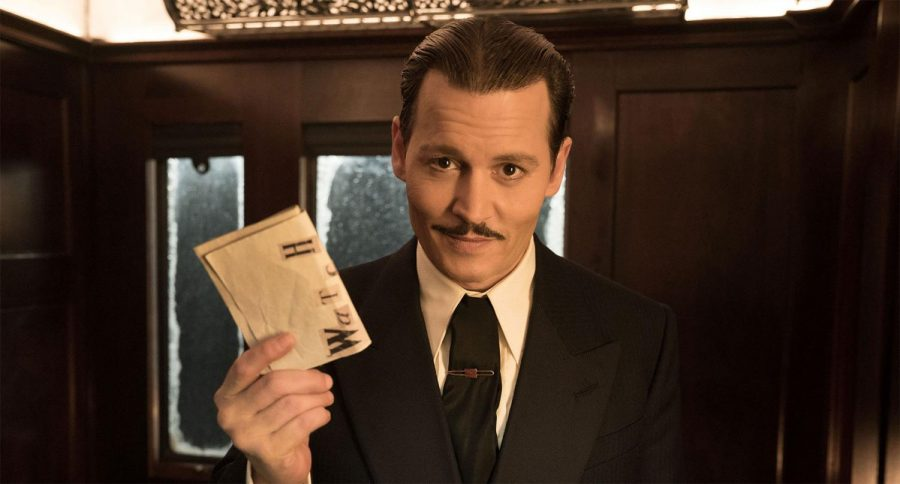 Johnny Depp stars as 'The Gangster' in