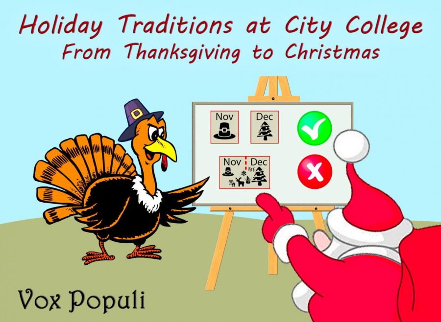 Holiday Traditions at City College - from Thanksgiving to Christmas