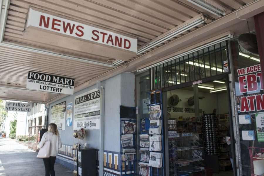 """San Diego CityBeat editor-in-chief Seth Combs the Paras News newsstand in North Park one of his favorite places in the world, """"They have all these amazing annuals and quarterlies with these people doing amazing design work and illustrations."""""""
