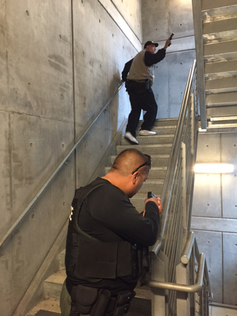 The San Diego Community College District Police Department promotes active shooter training for students and faculty, although their methods have not been tested by a real shooting emergency.