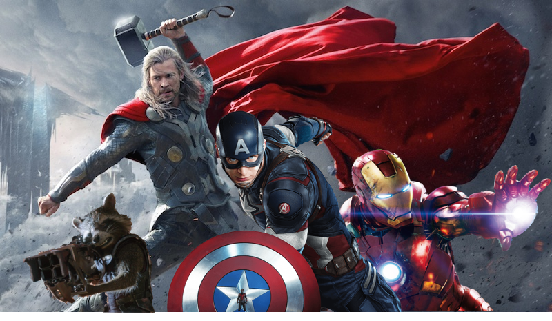 Earth's Mightiest Heroes band together.