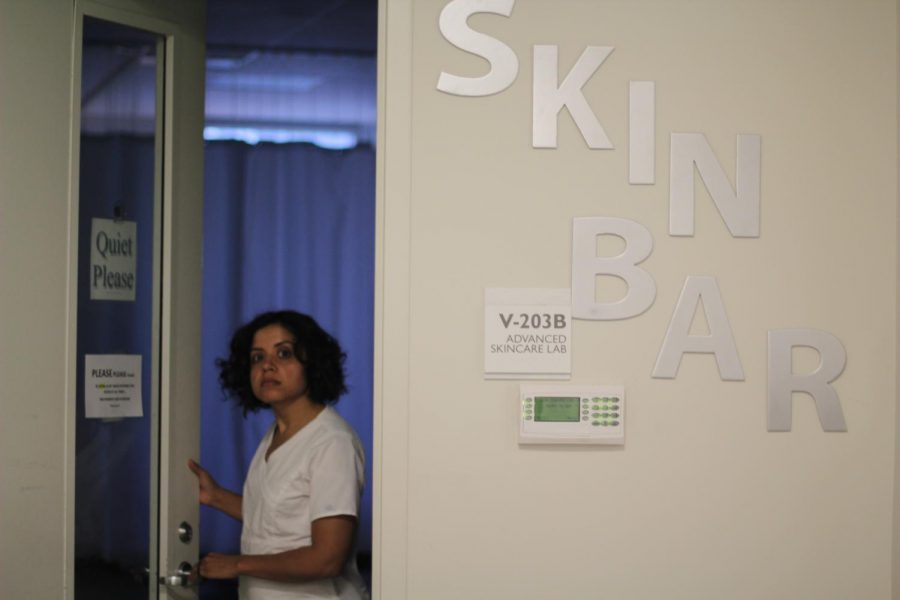 The Cosmetology program's applied skill lab, Skin Bar, offers full spa services to the public from Tuesday to Saturday.