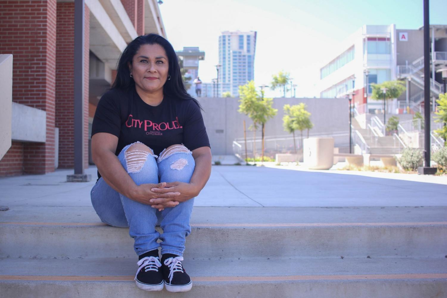 Claudia Osuna is one of 300 students benefiting from a second year in the San Diego Promise Program. By Nadia Mishkin.