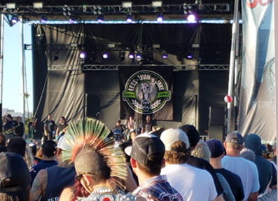 Less Than Jake at Skallywag Festival
