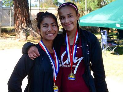 Cesia Hernandez and Dafne Perez