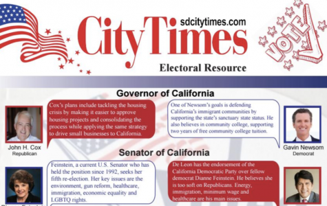 City Times election insert