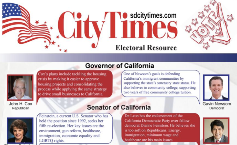 The City Times has stories and resources available to help voters make decisions on Nov. 6. City Times staff photo.