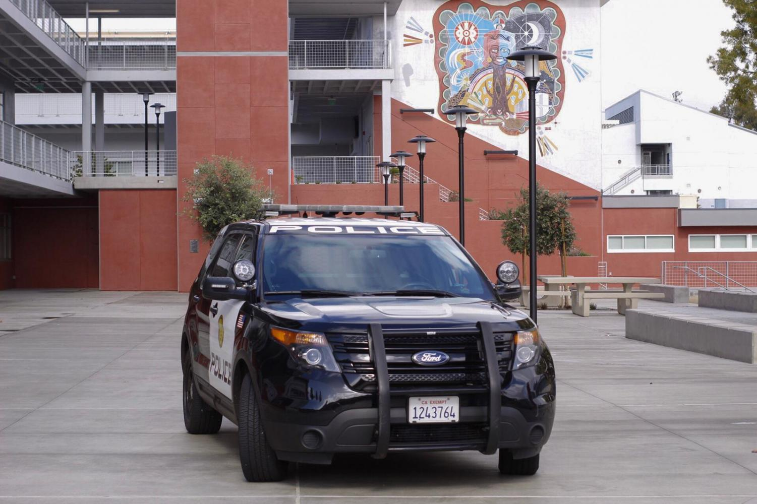 San Diego Community College police evacuated the San Diego City College campus after a late-morning power outage. Photo by David Ahumada, City Times